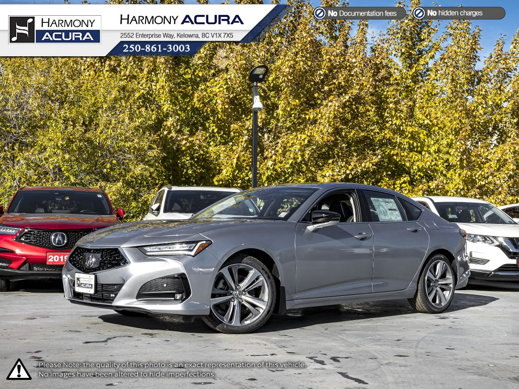 SILVER NH-830M 2021 Acura TLX