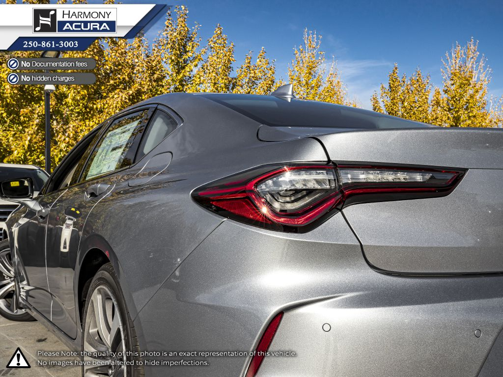 SILVER NH-830M 2021 Acura TLX Rear of Vehicle Photo in Kelowna BC