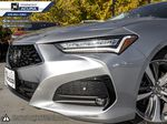 SILVER NH-830M 2021 Acura TLX Left Side Rear Seat  Photo in Kelowna BC