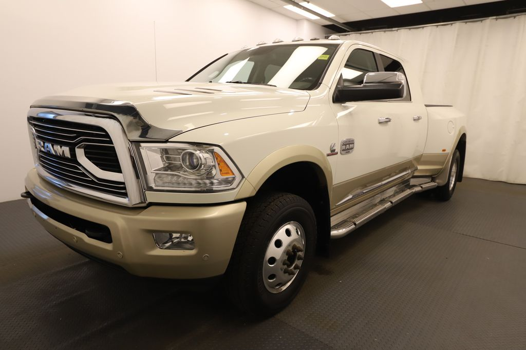 Tan 2017 Ram 3500 Left Front Head Light / Bumper and Grill in Lethbridge AB