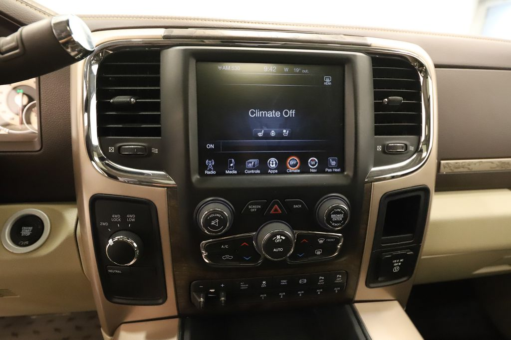 Tan 2017 Ram 3500 Central Dash Options Photo in Lethbridge AB
