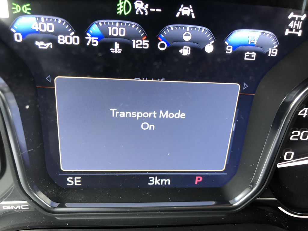 White[White Frost Tricoat] 2021 GMC Sierra 1500 Denali Odometer Photo in Canmore AB