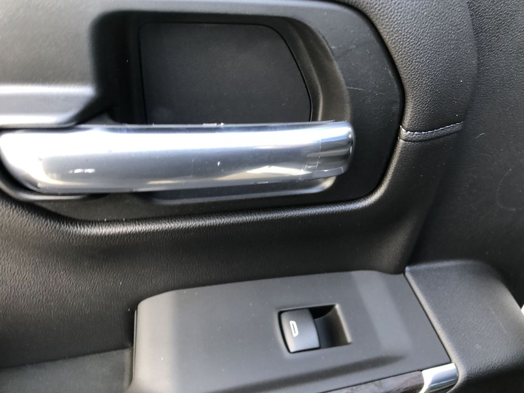 White[White Frost Tricoat] 2021 GMC Sierra 1500 Denali LR Door Panel Ctls Photo in Canmore AB