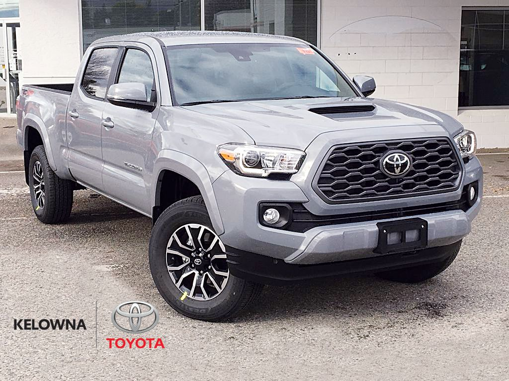 Gray[Cement] 2021 Toyota Tacoma TRD Sport
