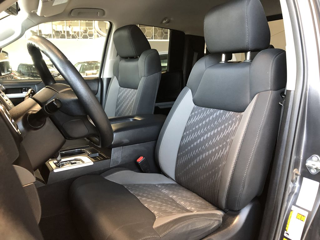 Grey 2018 Toyota Tundra TRD Sport Left Driver Controlled Options Photo in Edmonton AB