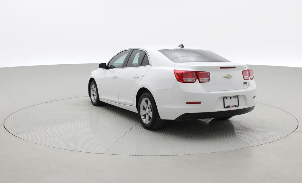 White[Summit White] 2013 Chevrolet Malibu LS - Cheap Used Car For Sale, Cruise Control Right  Rear Corner Photo in Winnipeg MB