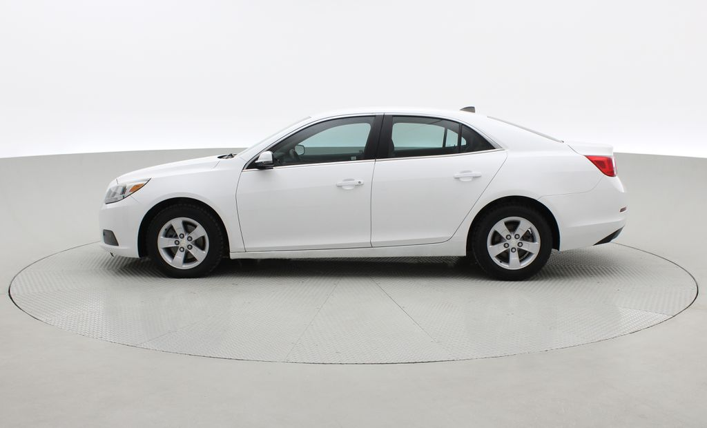 White[Summit White] 2013 Chevrolet Malibu LS - Cheap Used Car For Sale, Cruise Control Left Side Photo in Winnipeg MB