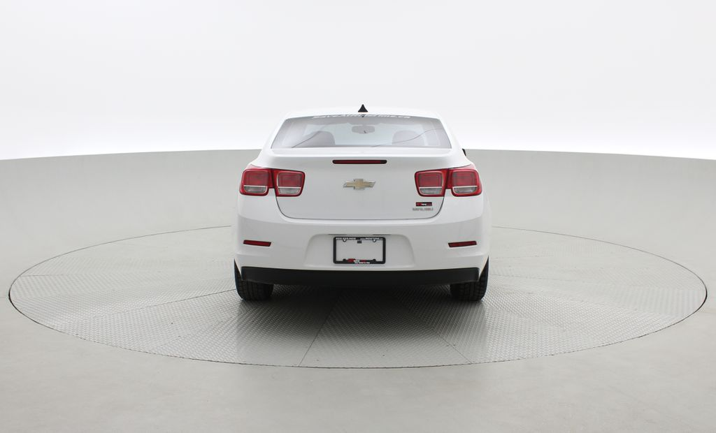 White[Summit White] 2013 Chevrolet Malibu LS - Cheap Used Car For Sale, Cruise Control Rear of Vehicle Photo in Winnipeg MB