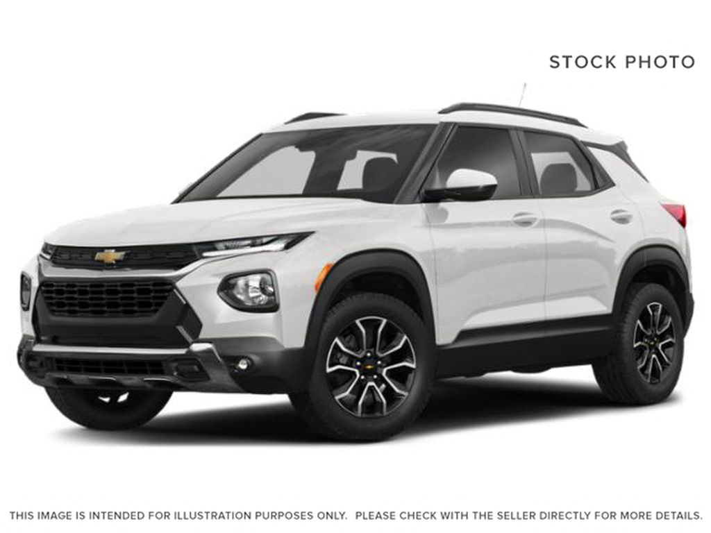 White[Summit White] 2021 Chevrolet Trailblazer