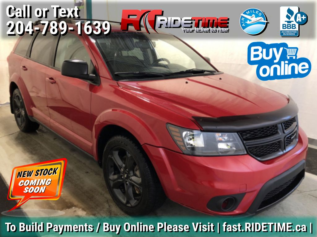 Red[Redline 2 Coat Pearl] 2014 Dodge Journey Blacktop - 7 Passenger, Rear DVD, Heated Seats