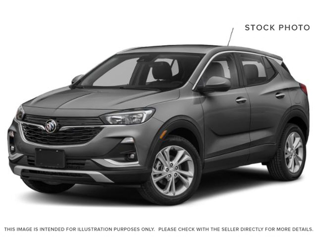 Satin Steel Metallic 2021 Buick Encore GX