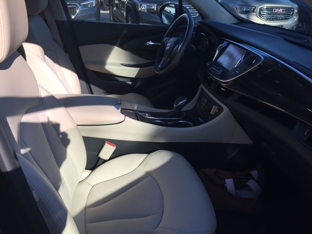 BLACK 2019 Buick Envision Strng Wheel/Dash Photo: Frm Rear in Oshawa ON