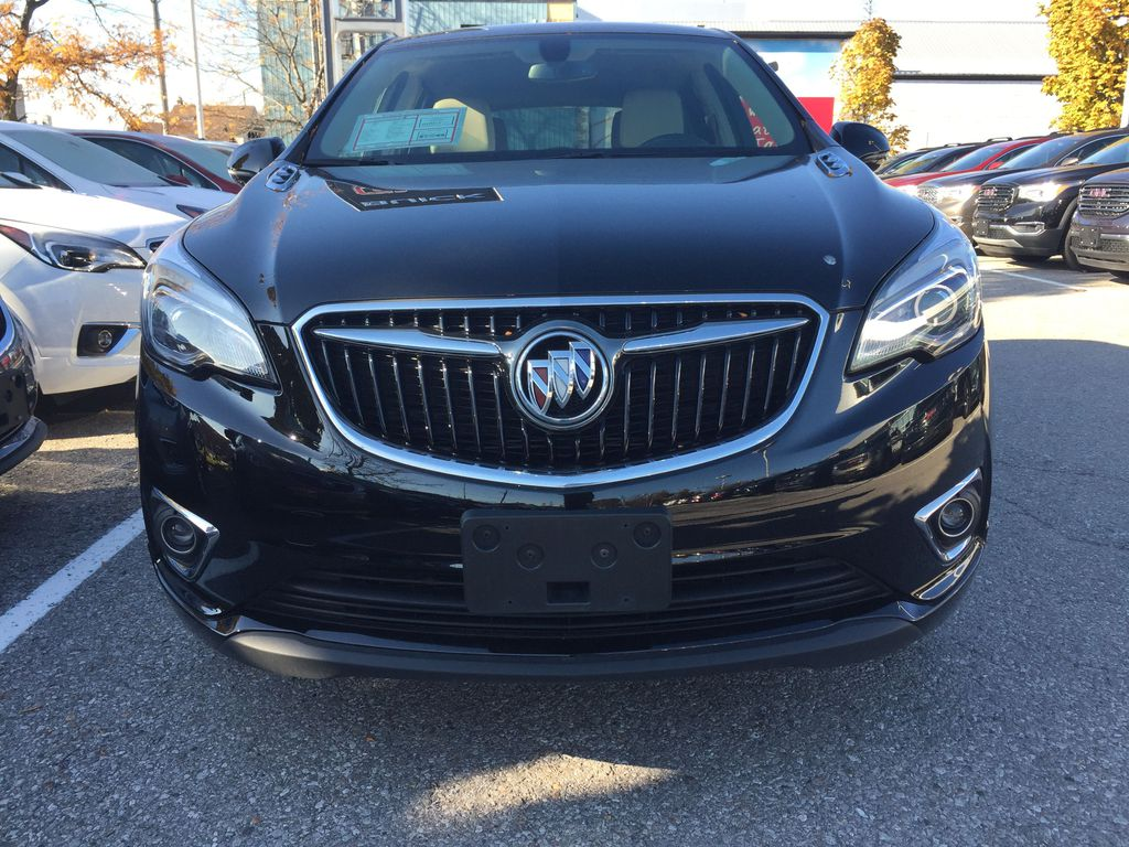 BLACK 2019 Buick Envision Front Vehicle Photo in Oshawa ON