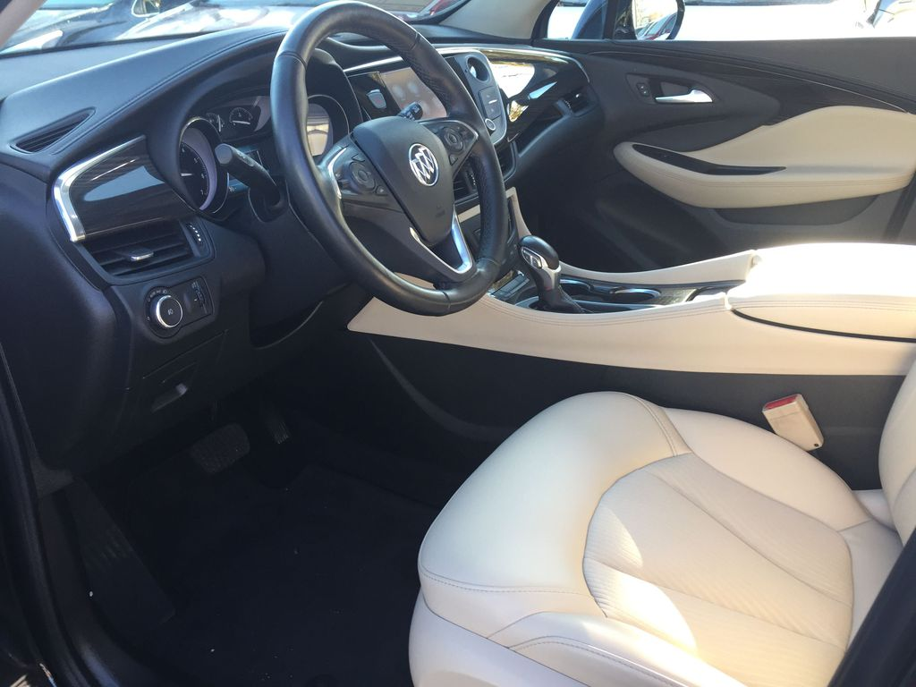 BLACK 2019 Buick Envision Left Side Photo in Oshawa ON