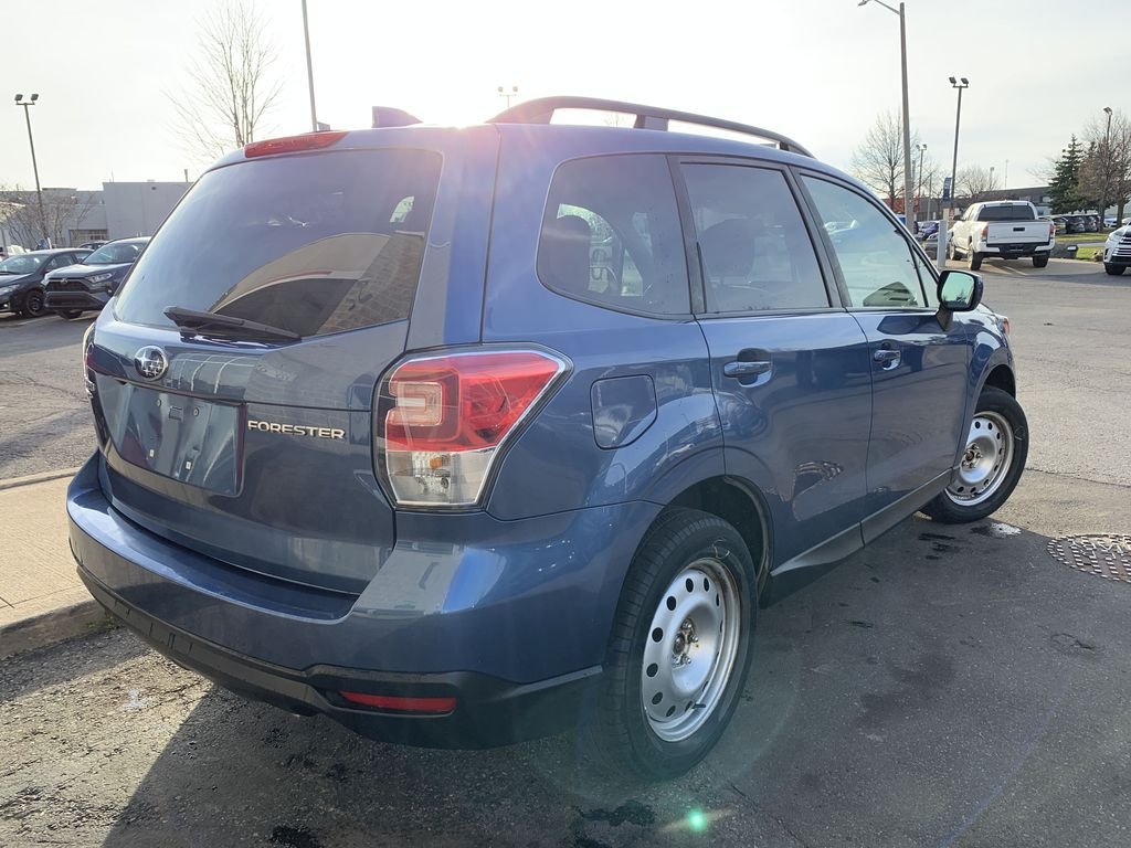 Blue 2017 Subaru Forester Front Vehicle Photo in Brampton ON