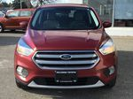 Red[Ruby Red Metallic Tinted Clearcoat] 2017 Ford Escape SE Front Vehicle Photo in Kelowna BC