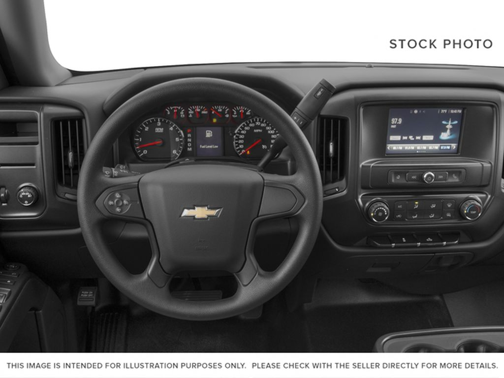 2016 Chevrolet Silverado 1500 Steering Wheel and Dash Photo in Medicine Hat AB