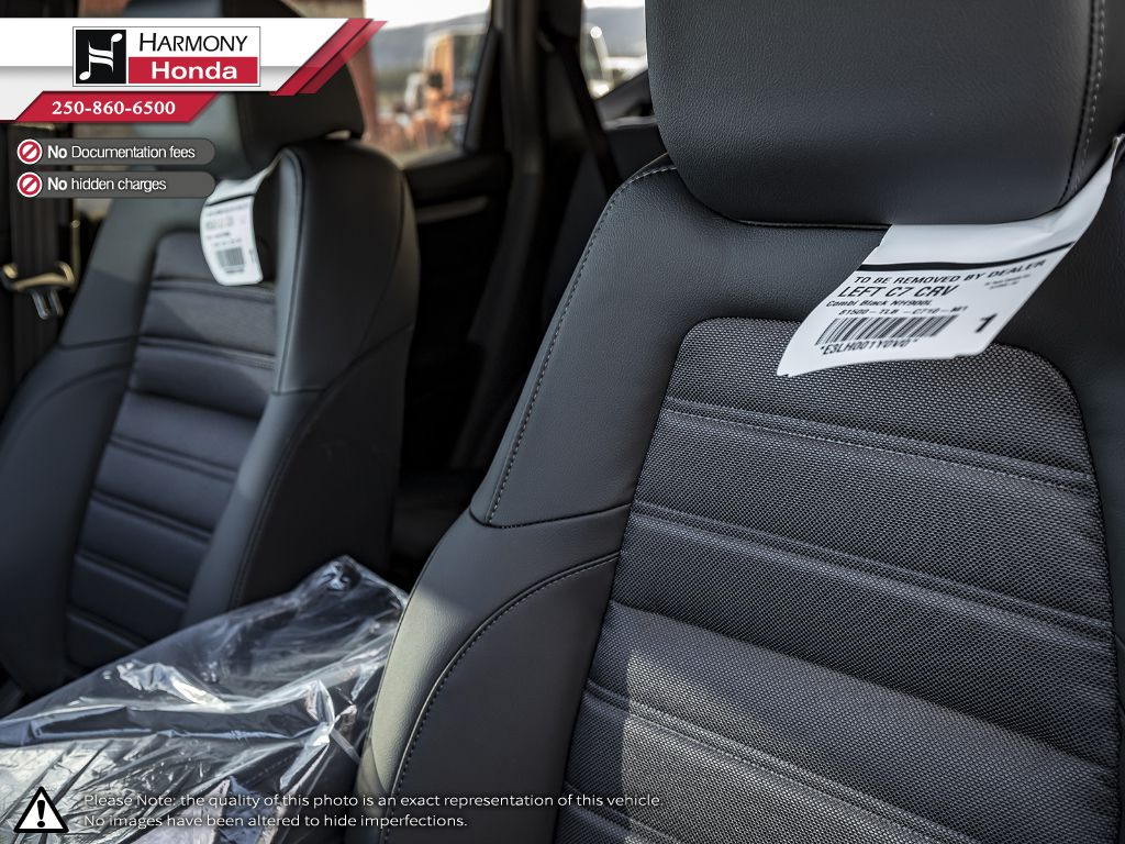 GREY NH-877P 2020 Honda CR-V Rear Seat Photo in Kelowna BC