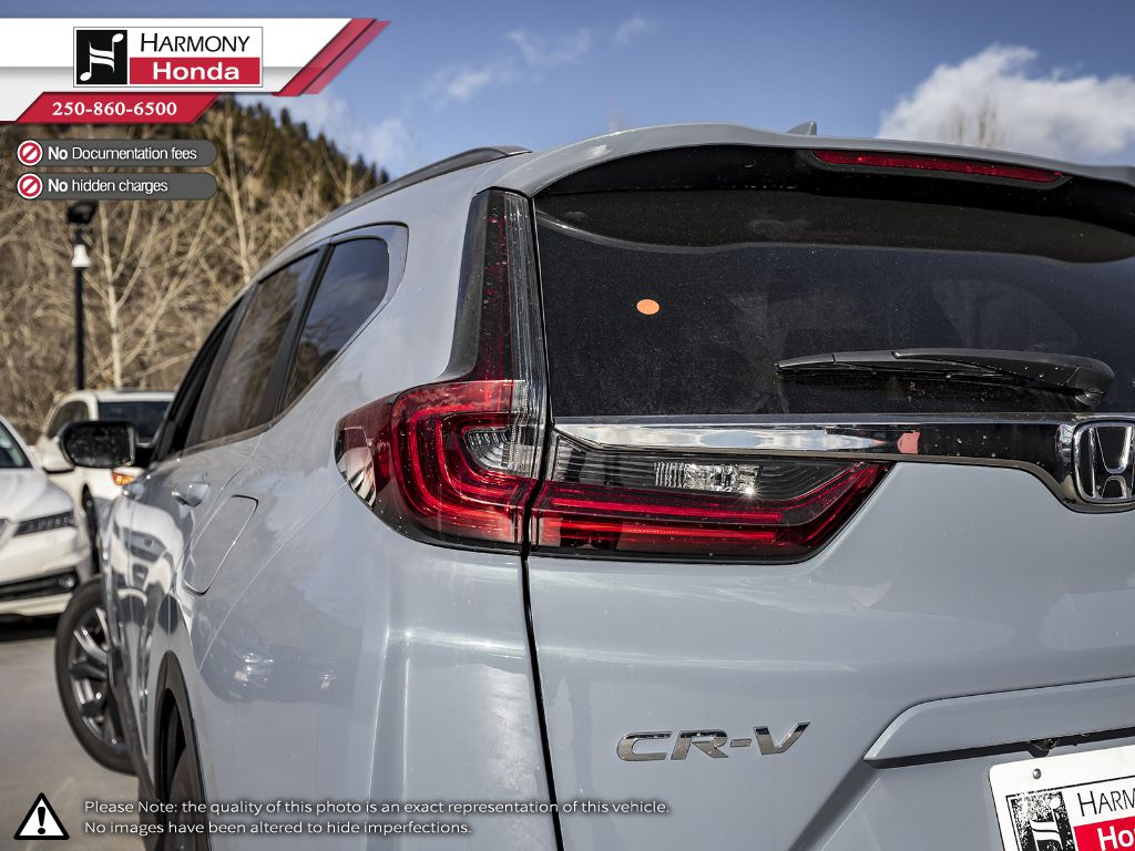 GREY NH-877P 2020 Honda CR-V Trunk / Cargo Area Photo in Kelowna BC