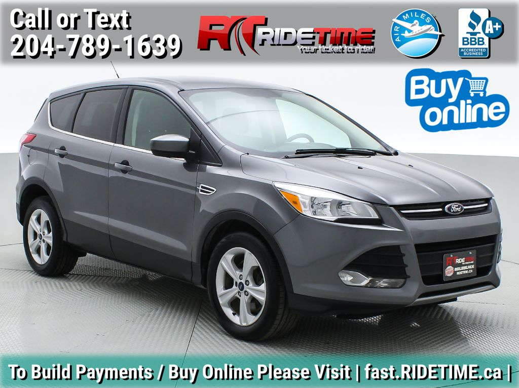 Gray[Sterling Grey Metallic] 2013 Ford Escape SE AWD - 2.0L EcoBoost, Bluetooth, SAT Radio