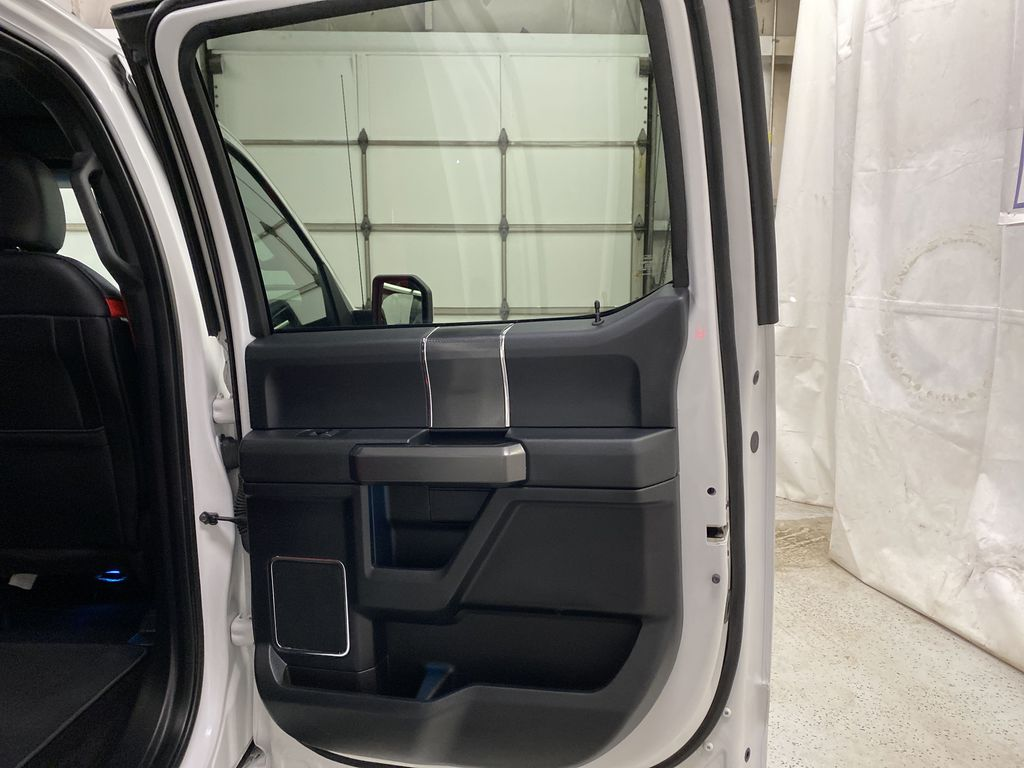 White[Oxford White] 2016 Ford F-150 Right Rear Interior Door Panel Photo in Dartmouth NS