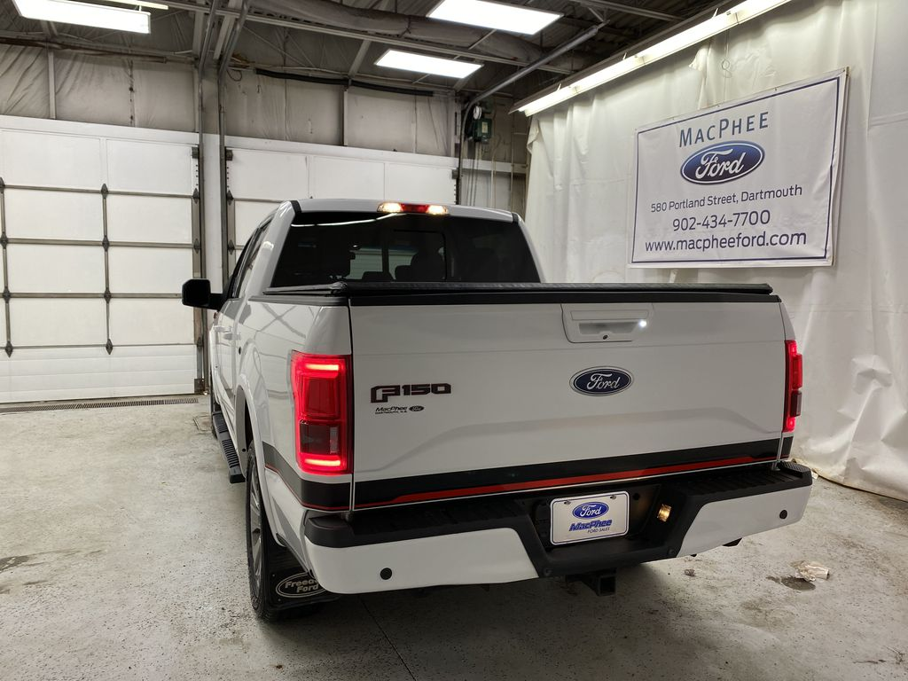 White[Oxford White] 2016 Ford F-150 Rear of Vehicle Photo in Dartmouth NS