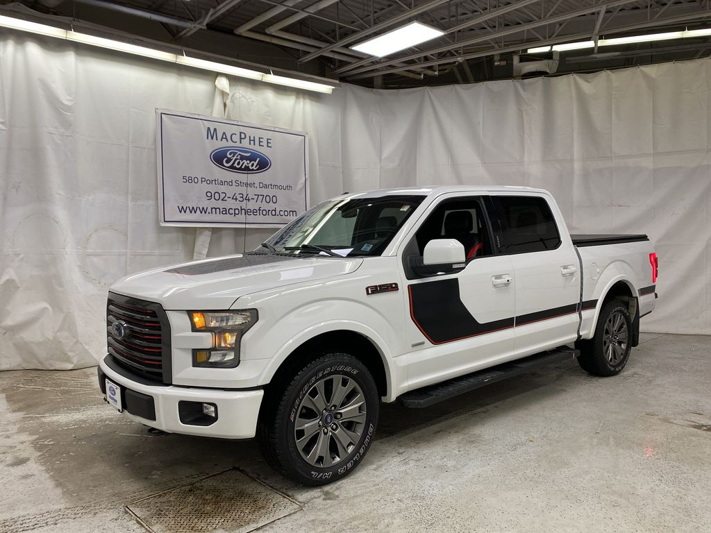 White[Oxford White] 2016 Ford F-150