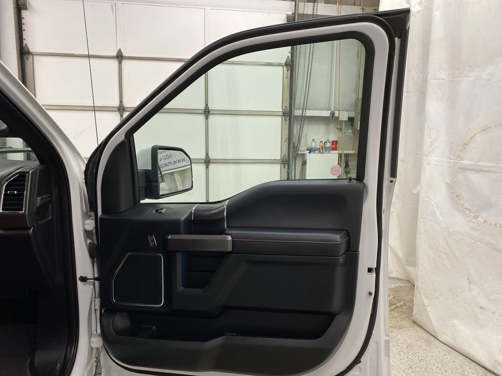 White[Oxford White] 2016 Ford F-150 Right Front Interior Door Panel Photo in Dartmouth NS