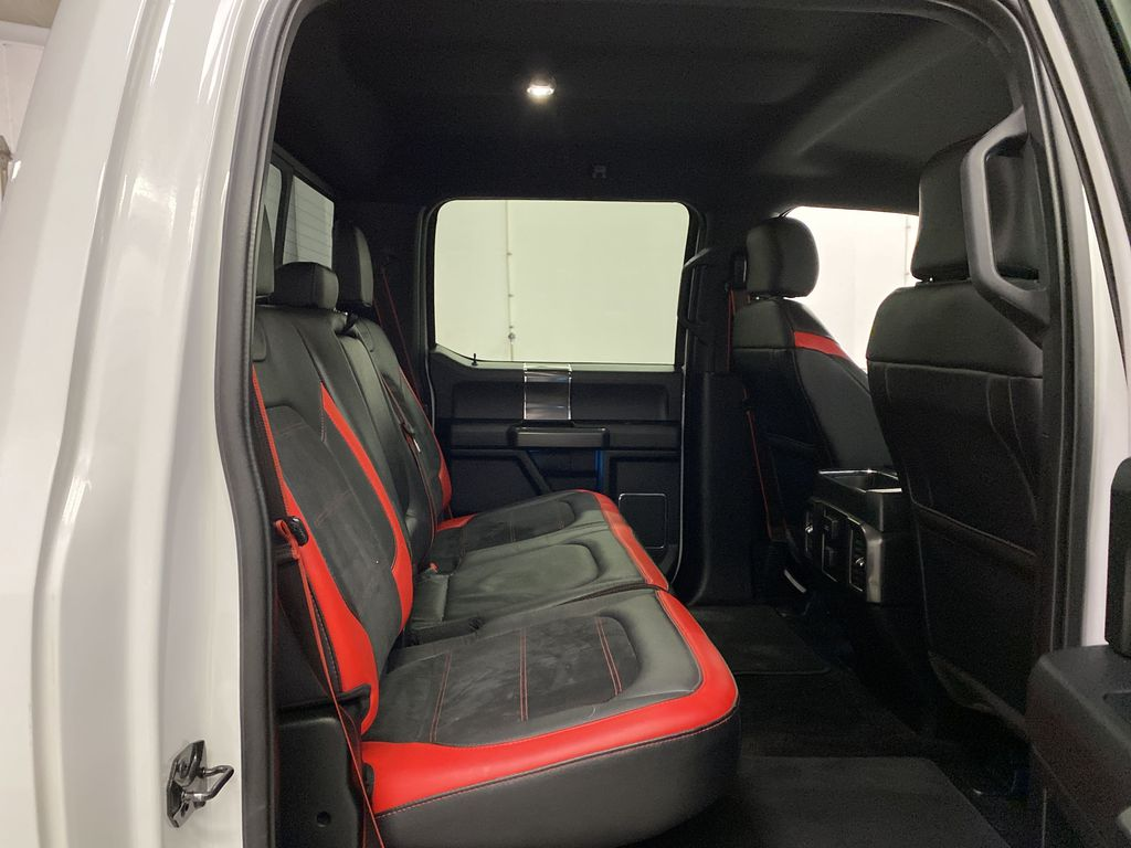 White[Oxford White] 2016 Ford F-150 Right Side Rear Seat  Photo in Dartmouth NS