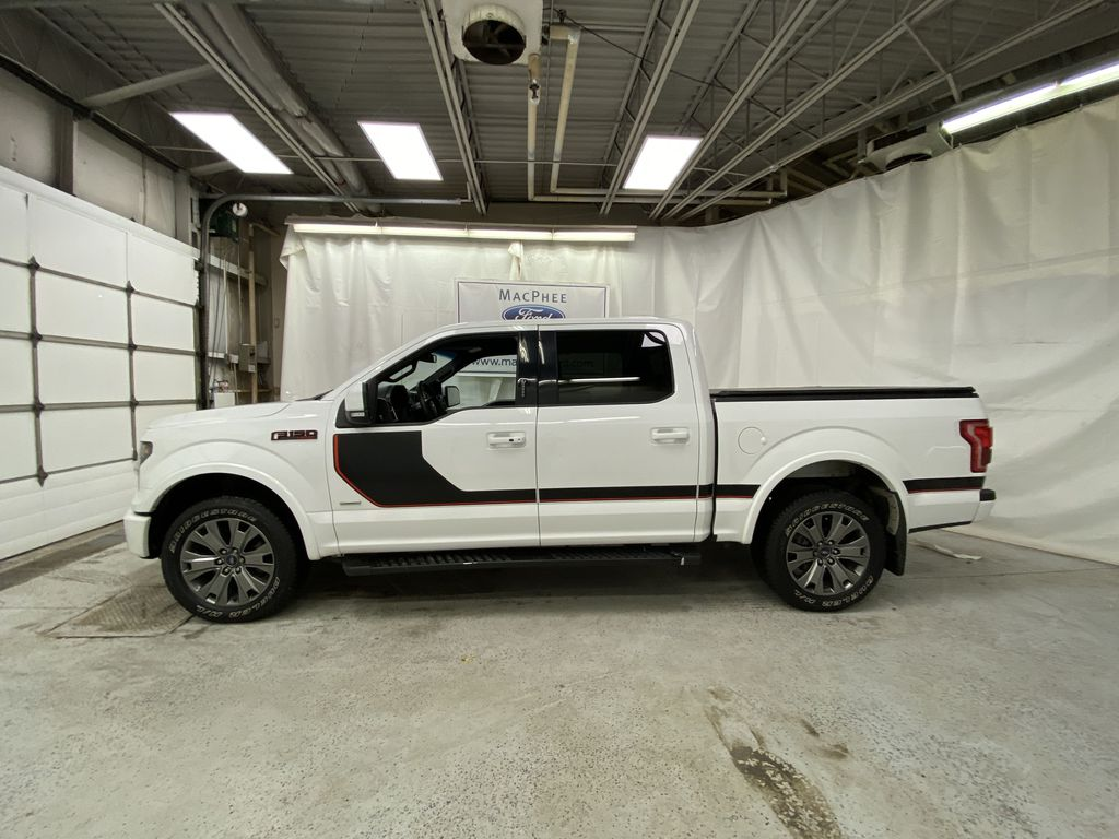 White[Oxford White] 2016 Ford F-150 Left Side Photo in Dartmouth NS