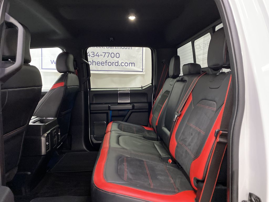 White[Oxford White] 2016 Ford F-150 Left Side Rear Seat  Photo in Dartmouth NS