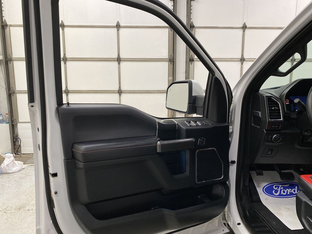 White[Oxford White] 2016 Ford F-150 Left Front Interior Door Panel Photo in Dartmouth NS