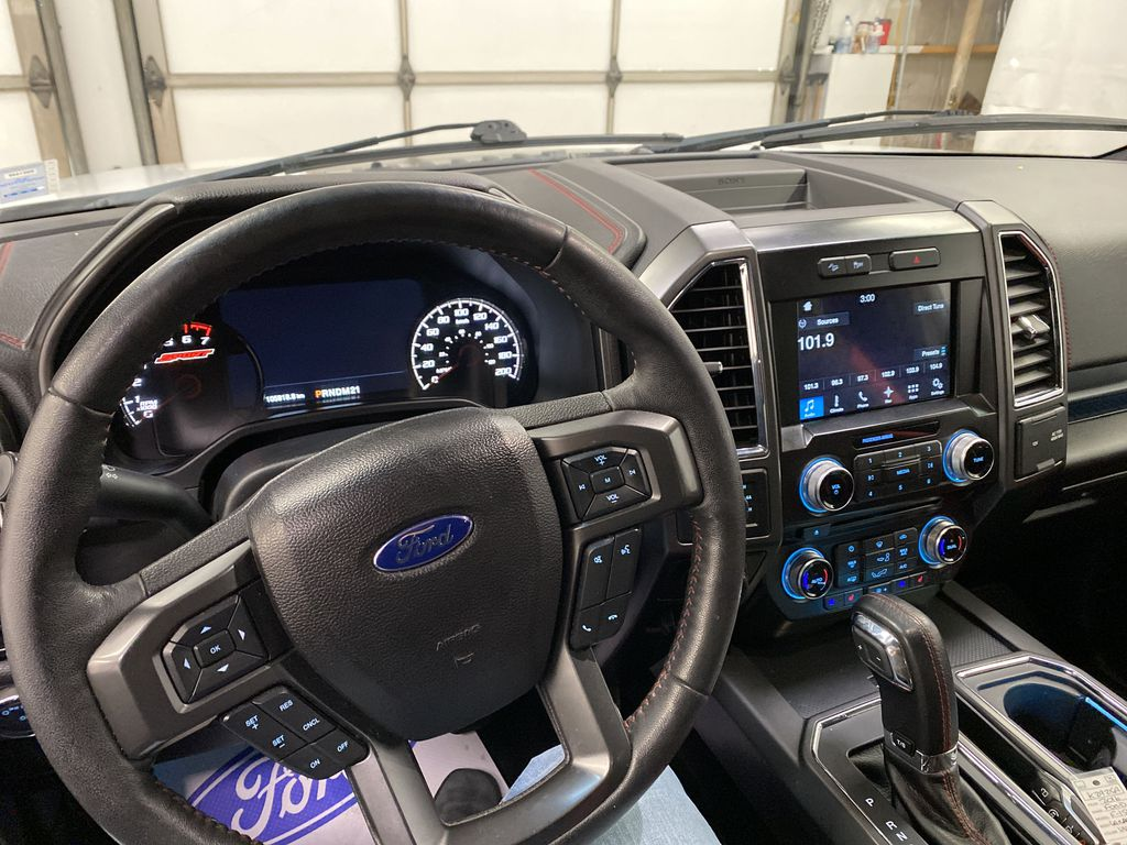White[Oxford White] 2016 Ford F-150 Steering Wheel and Dash Photo in Dartmouth NS