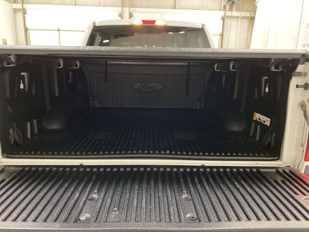 White[Oxford White] 2016 Ford F-150 Trunk / Cargo Area Photo in Dartmouth NS