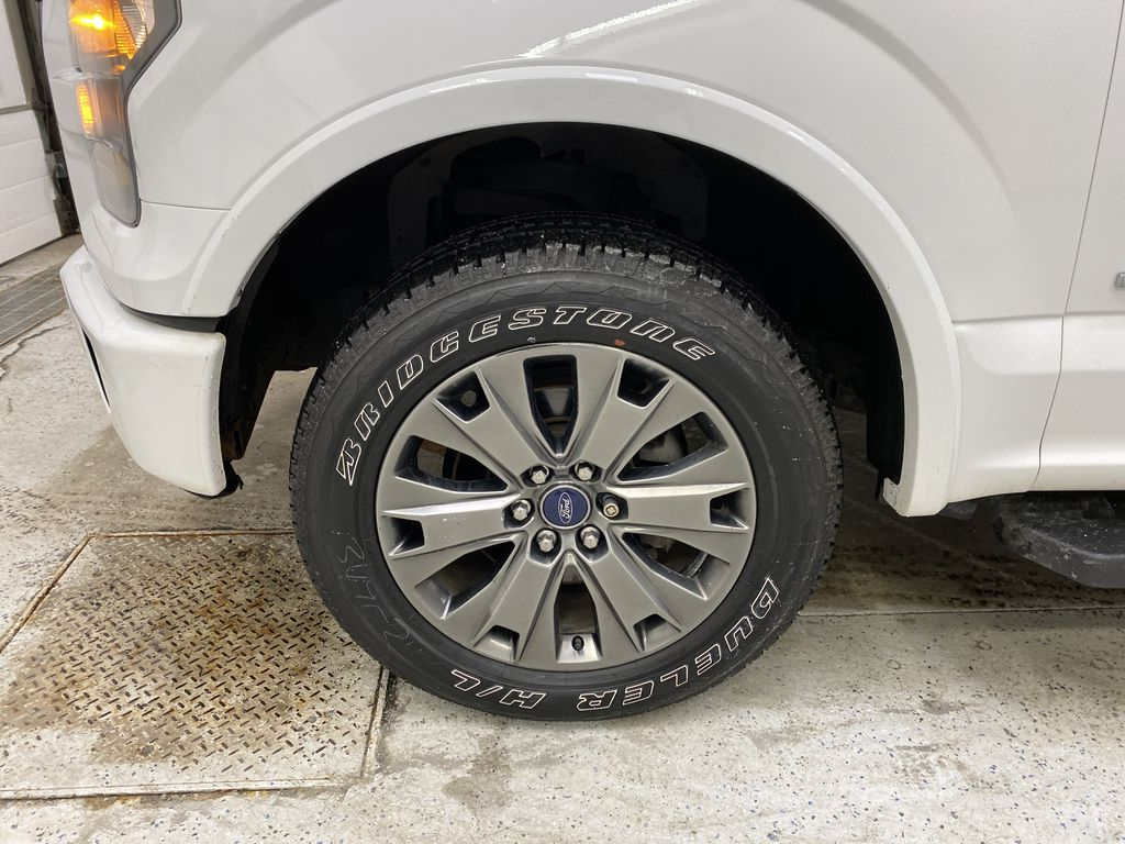 White[Oxford White] 2016 Ford F-150 Left Front Rim and Tire Photo in Dartmouth NS