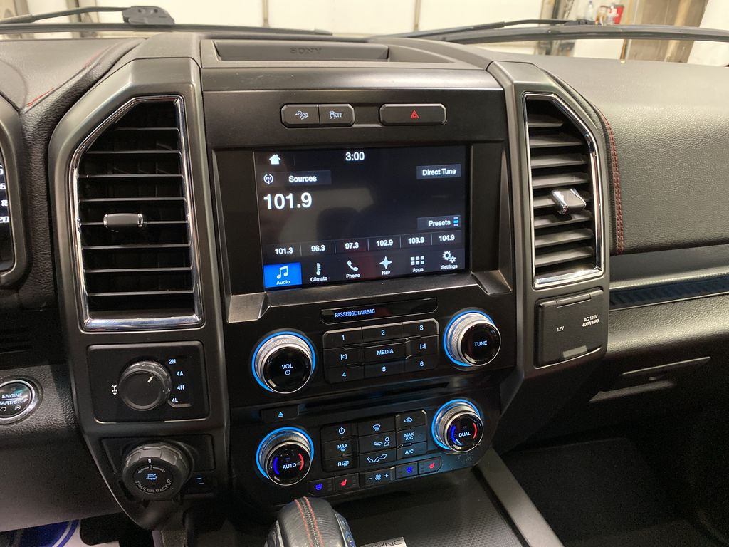 White[Oxford White] 2016 Ford F-150 Central Dash Options Photo in Dartmouth NS