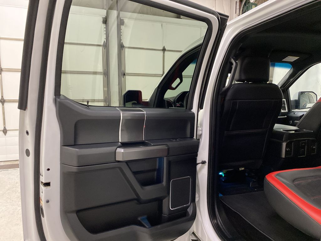 White[Oxford White] 2016 Ford F-150 Left Rear Interior Door Panel Photo in Dartmouth NS