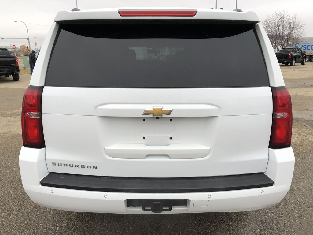 White[Summit White] 2019 Chevrolet Suburban Rear of Vehicle Photo in Edmonton AB