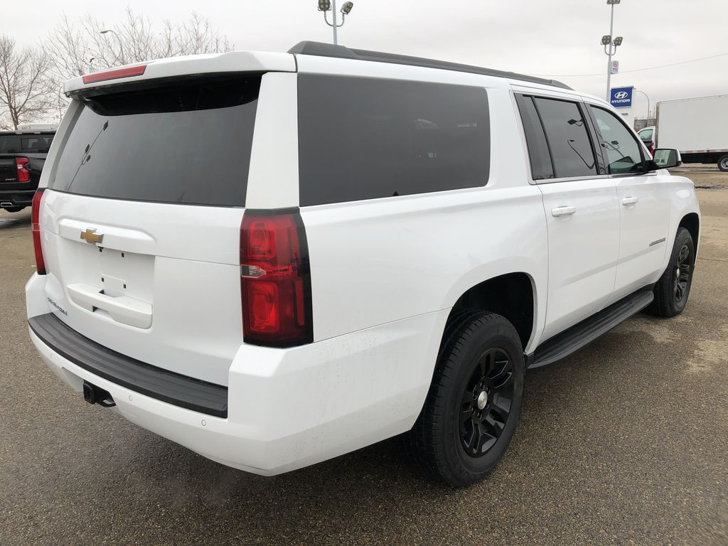 White[Summit White] 2019 Chevrolet Suburban Right Rear Corner Photo in Edmonton AB