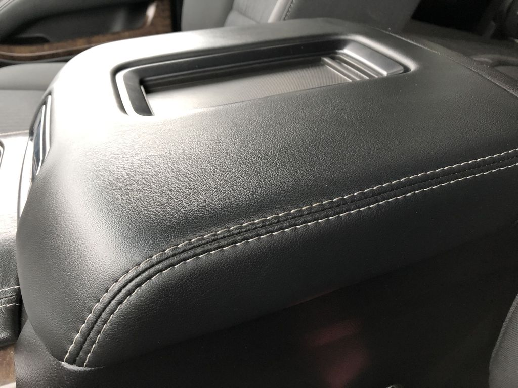 White[Summit White] 2019 Chevrolet Suburban Center Console Photo in Edmonton AB