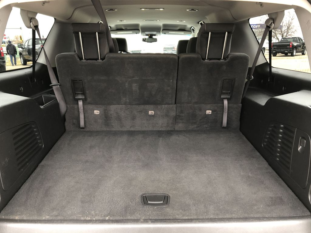White[Summit White] 2019 Chevrolet Suburban Trunk / Cargo Area Photo in Edmonton AB