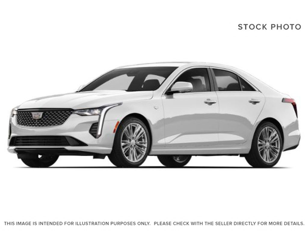White[Summit White] 2020 Cadillac CT4