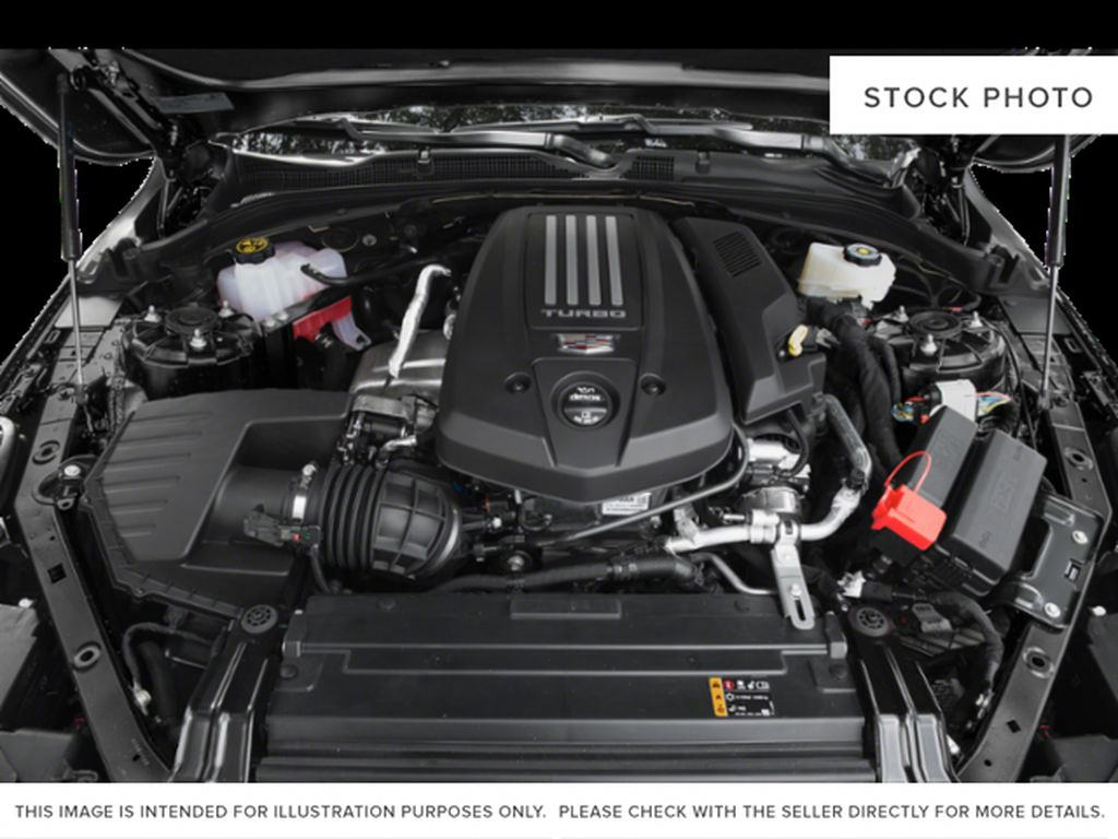 White[Summit White] 2020 Cadillac CT4 Engine Compartment Photo in Edmonton AB