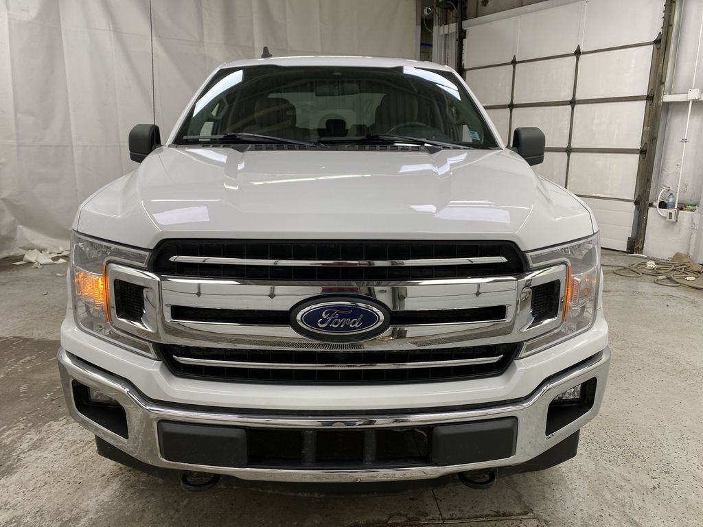 White[Oxford White] 2019 Ford F-150 Front Vehicle Photo in Dartmouth NS