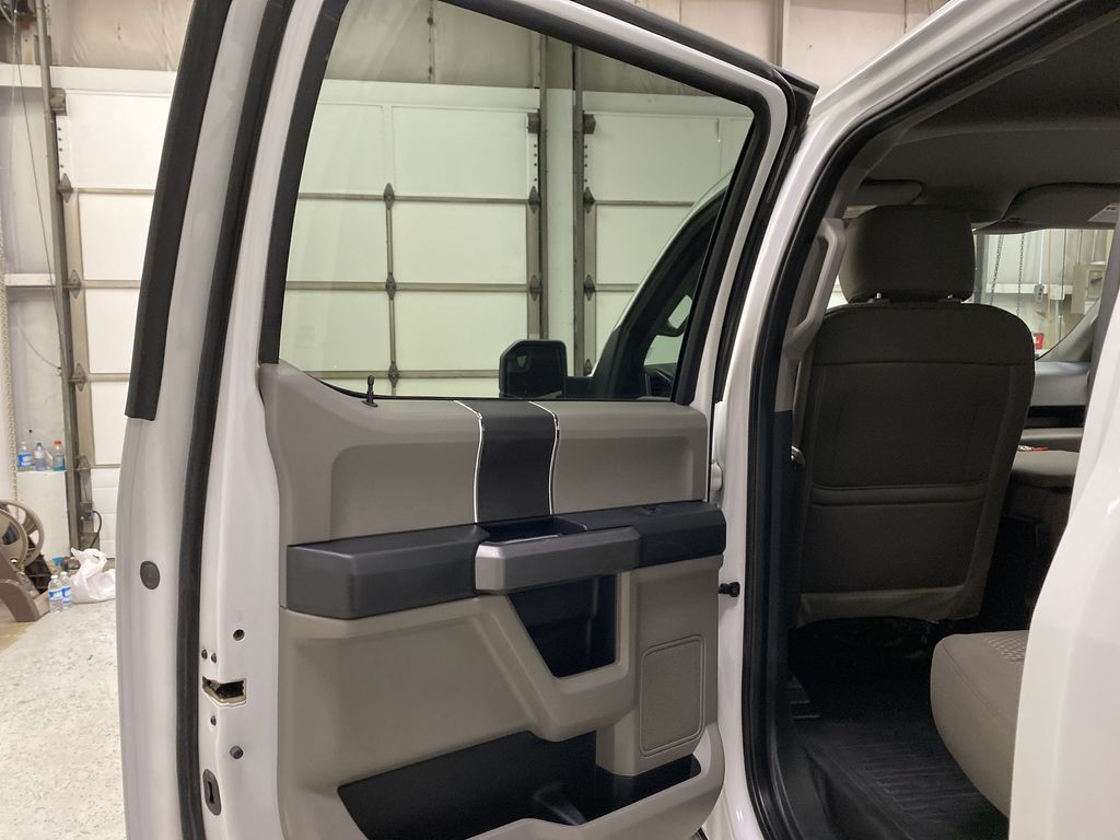White[Oxford White] 2019 Ford F-150 Left Rear Interior Door Panel Photo in Dartmouth NS