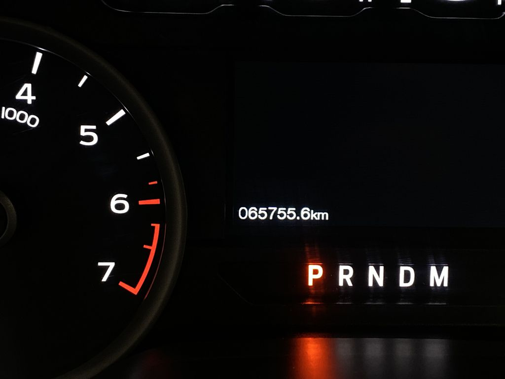 White[Oxford White] 2019 Ford F-150 Odometer Photo in Dartmouth NS