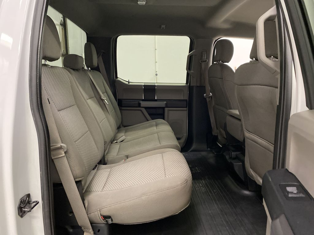 White[Oxford White] 2019 Ford F-150 Right Side Rear Seat  Photo in Dartmouth NS