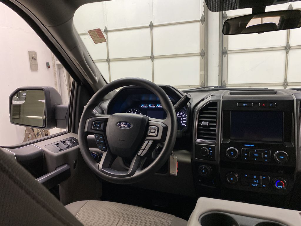 White[Oxford White] 2019 Ford F-150 Strng Wheel: Frm Rear in Dartmouth NS