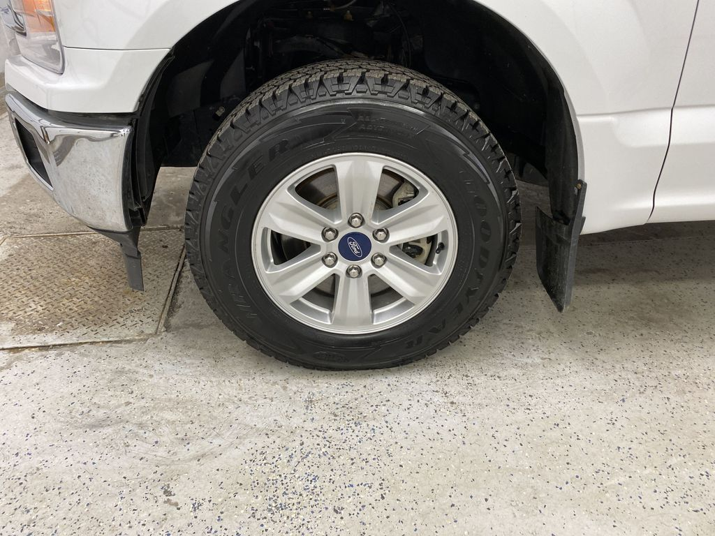 White[Oxford White] 2019 Ford F-150 Left Front Rim and Tire Photo in Dartmouth NS