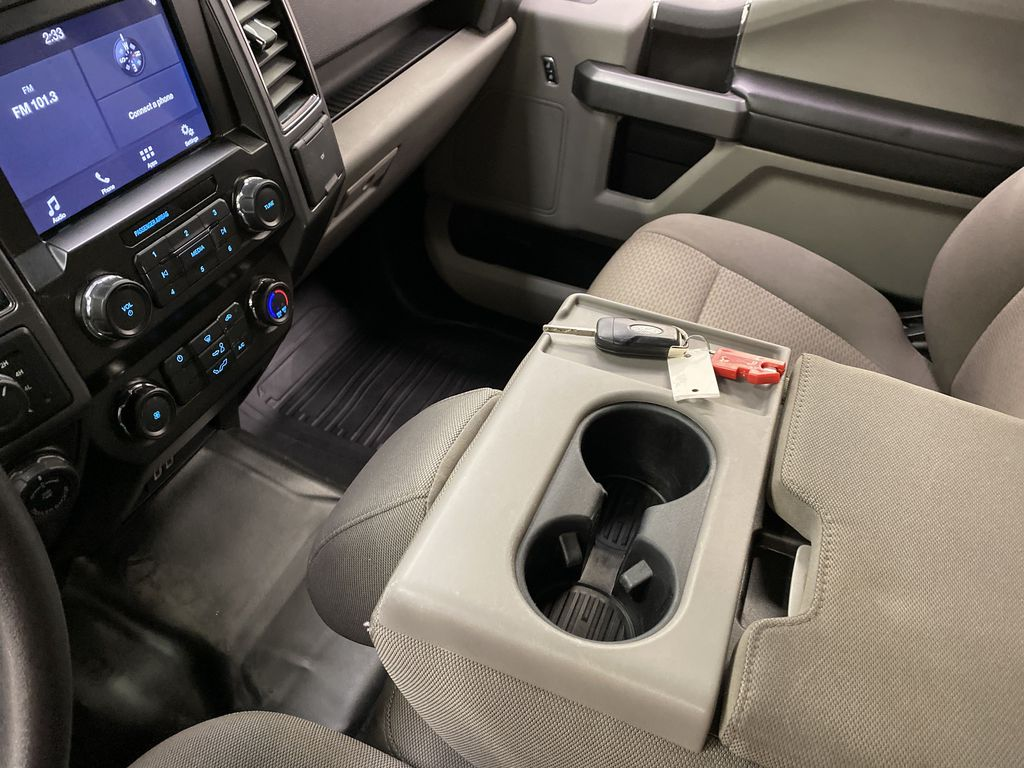 White[Oxford White] 2019 Ford F-150 Center Console Photo in Dartmouth NS